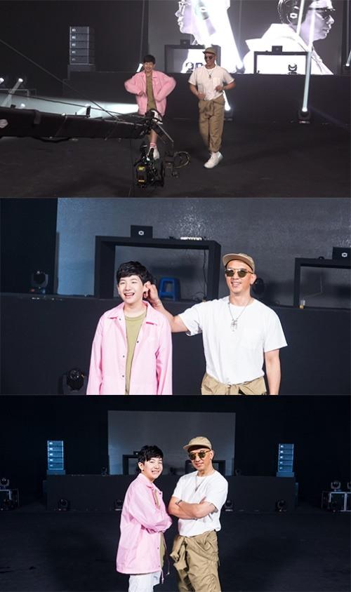 '프듀2' 막내 이우진, 데뷔 20주년 클론 MV 출연