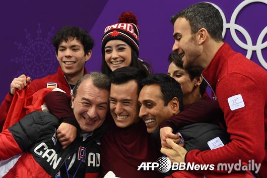 캐나다 피겨 단체전 우승…패트릭 챈은 올림픽 첫 金