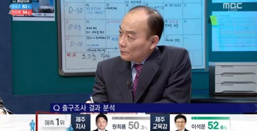 """전원책 """"'김부선 스캔들' 선거에 영향 없어, '이부망천'이 결정적"""""""