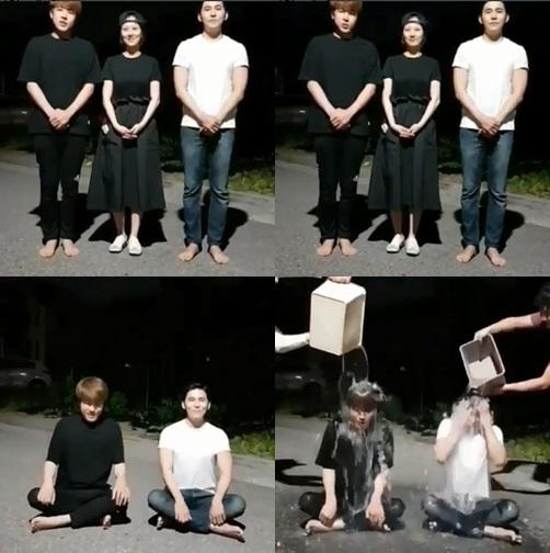 """""""임신 중이라 다음에 꼭""""…장윤정 후배 나무 아이스버킷챌린지 응원"""