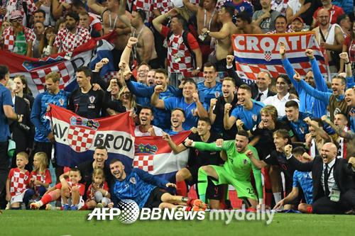 크로아티아, 월드컵 사상 첫 3연속 연장승부 후 결승행