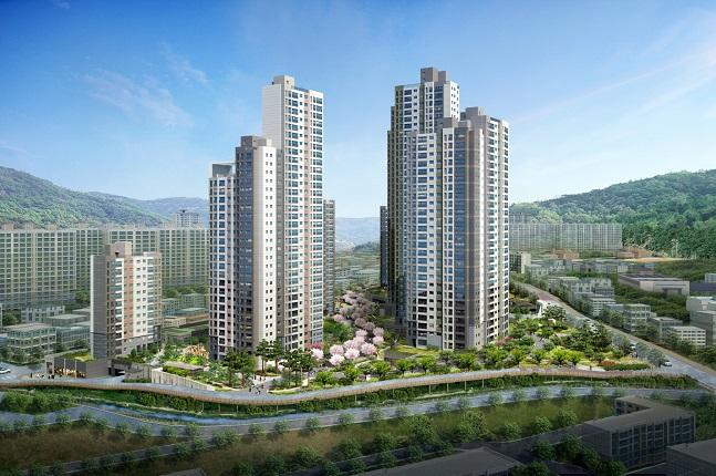 대우건설, 부산 '화명 센트럴 푸르지오' 25일 분양