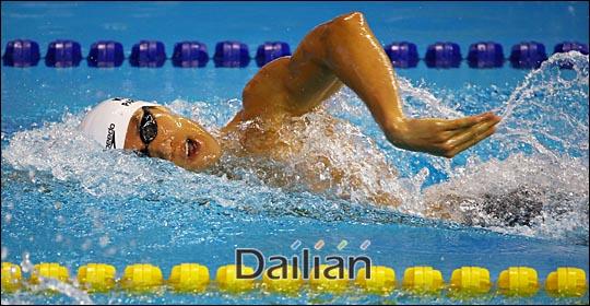 박태환 미국대회 자유형 400m 결승서 7위