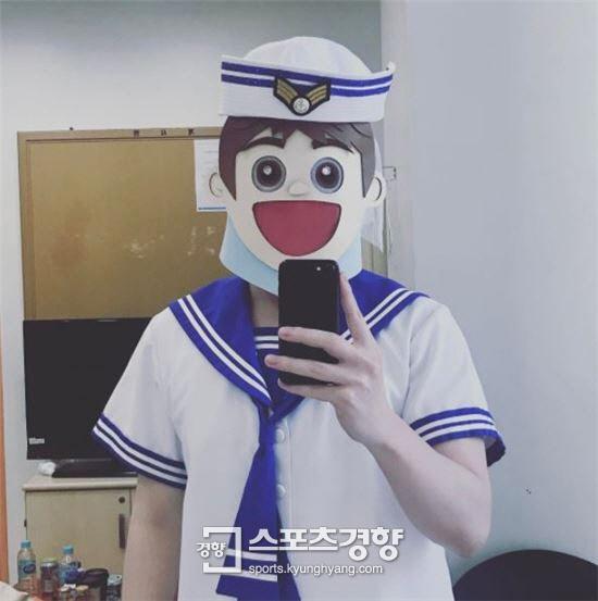 """존박 """"복면가왕 마린보이 나야 나"""" 귀여운 출연 소감"""