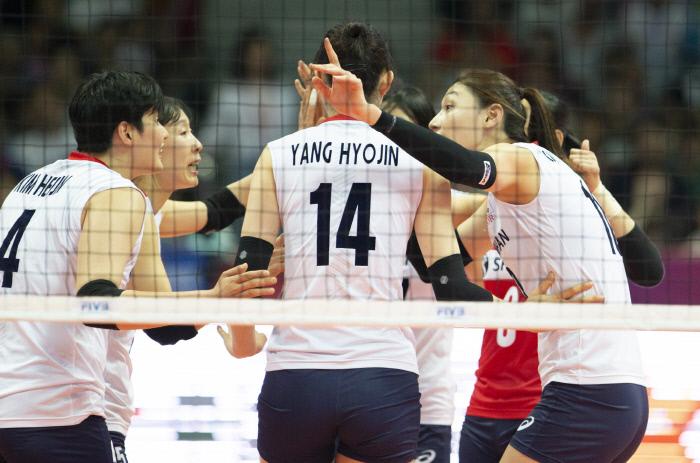 女배구 네이션스리그서 최강 중국 완파…2승1패로 1주차 마쳐