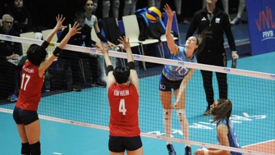 '김연경 없는' 한국 아르헨티나와 맞대결에서 첫 패배