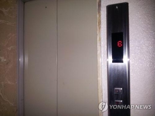 창원 엘리베이터 사고, 승강기 도착 전 문열려 `추락`…1명 사망