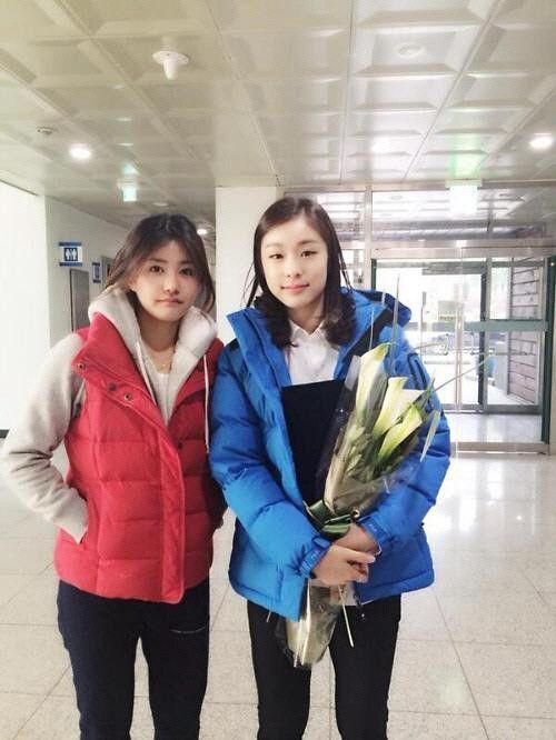 """안근영·김연아 훈훈한 투샷…""""안구 정화되는 미모"""""""