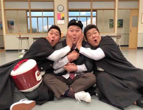 """'아는형님' 유민상, 강호동·문세윤과 찍은 사진 눈길…""""호동이 세마리"""""""