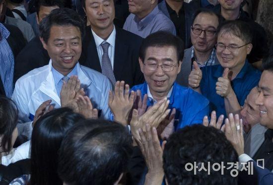 """선관위 """"박원순, 부인 자동차세를 재산세로 신고 오류"""""""