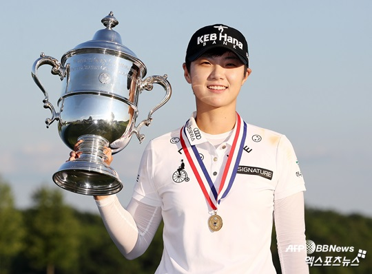 [US 여자오픈] 박성현, 역전 우승으로 데뷔 첫 승…톱10에 한국인 8명