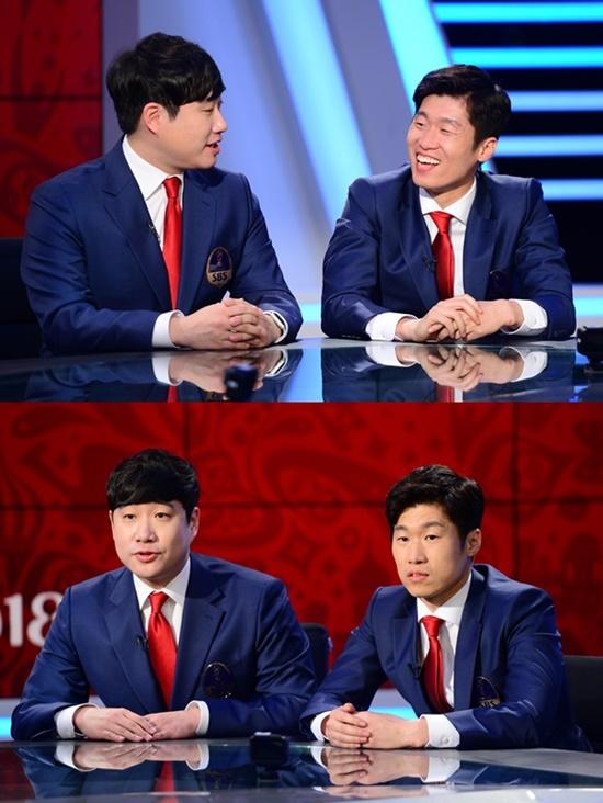 박지성 러시아 월드컵 개막전서 해설 데뷔…배성재와 '빼박콤비' 결성