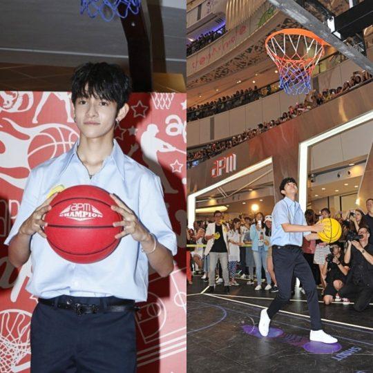 사무엘, 자선행사 참여 차 홍콩 방문... '뜨거운 인기'