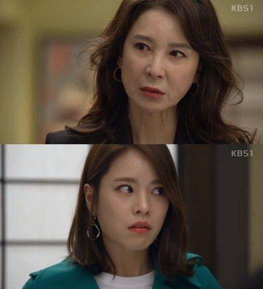 '내일도 맑음' 심혜진, 홍아름 가짜 딸 정체 알았다
