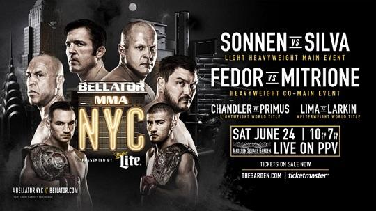 [기획] 뉴욕 입성한 벨라토르, 역대 최강 대진 카드로 UFC에 반격 나선다