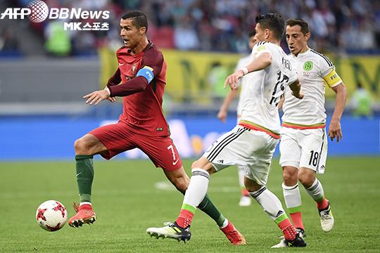 포르투갈-멕시코 1도움 호날두…맨유 '나이 걱정 없다'