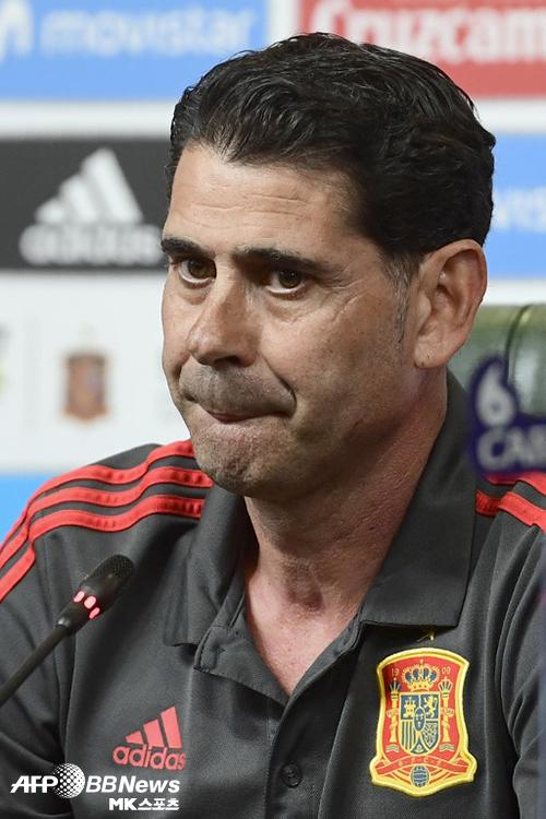 스페인 월드컵 감독 전격 교체…페르난도 이에로 선임