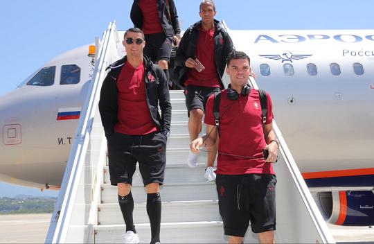 호날두의 마지막 월드컵 포르투갈 대표팀도 '러시아 입성'