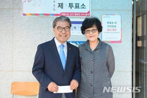 """`경기도 교육감 후보` 이재정 """"대한민국 미래위해 투표해달라"""""""