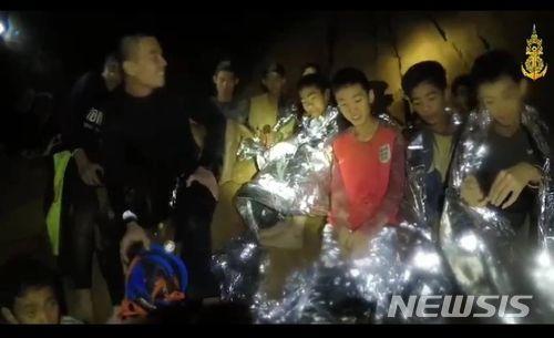 태국 동굴 소년들, '동굴병 감염' 우려… 구조된 뒤에도 격리