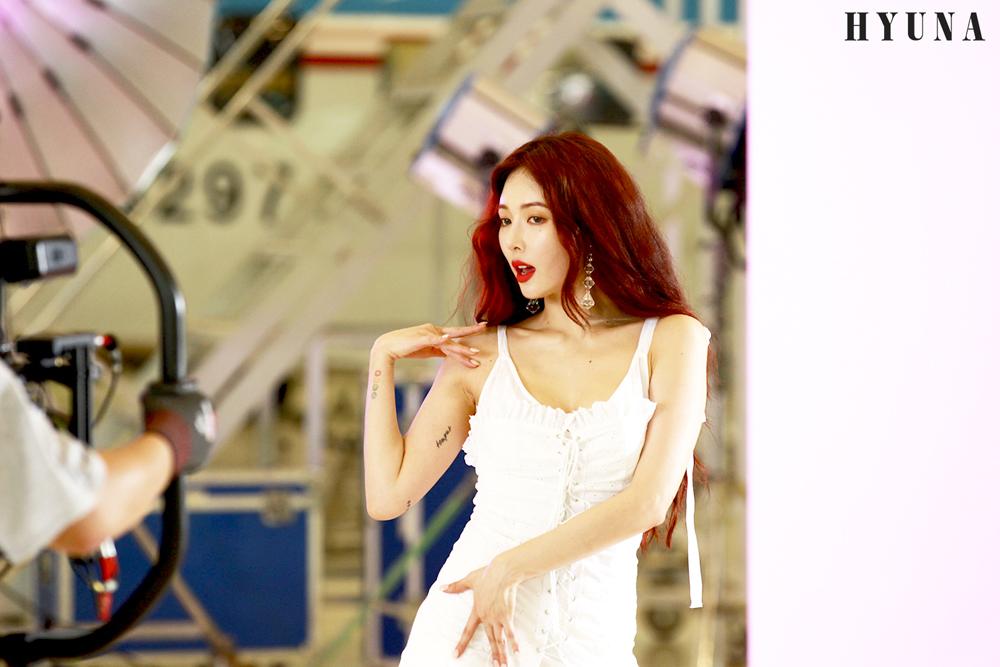 [포토][스타캐스트] 현아 (16) | 봐도 봐도 자꾸만 보게 되는 현아의 '베베 (BABE)' 뮤직비디오 촬영 현장 비하인드!