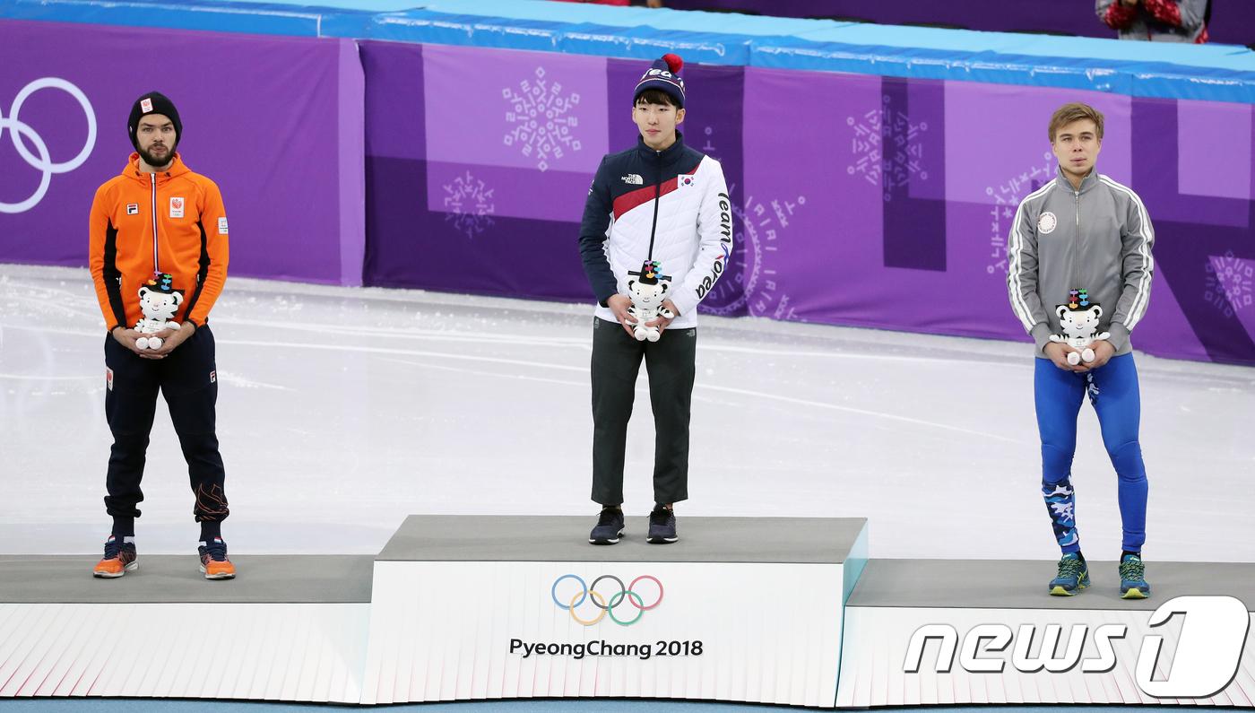 올림픽 ¨감동 공유 위해¨ 임효준 금메달 시상식 11일 열리는 까닭은