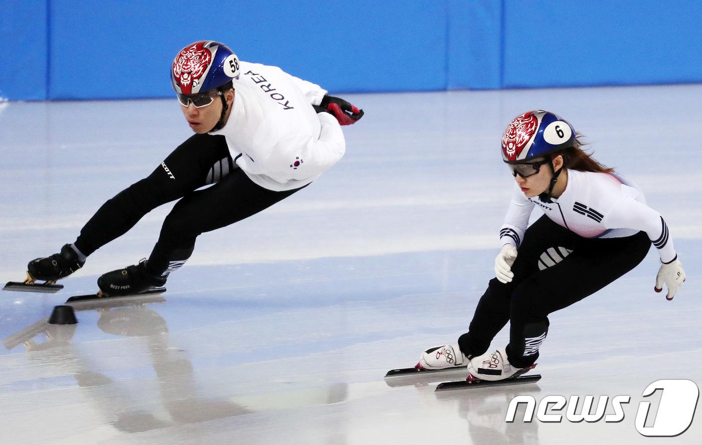 올림픽 박세우 코치 ¨최민정 스피드 남자선수 못지 않을 정도¨