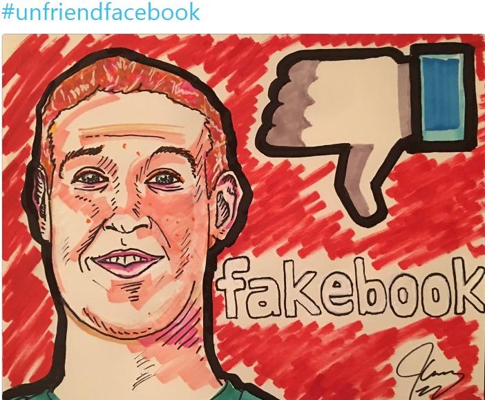 광고중단불매운동사용자 감소 페이스북 `사면초가`