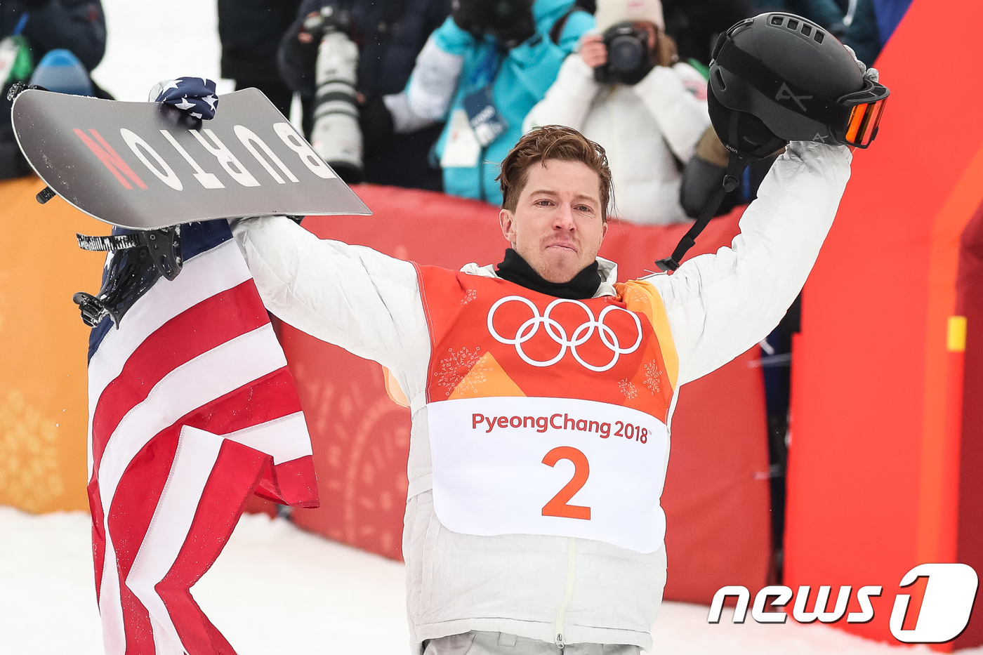 올림픽 `황제` 숀 화이트 美 100번째 금메달 주인공