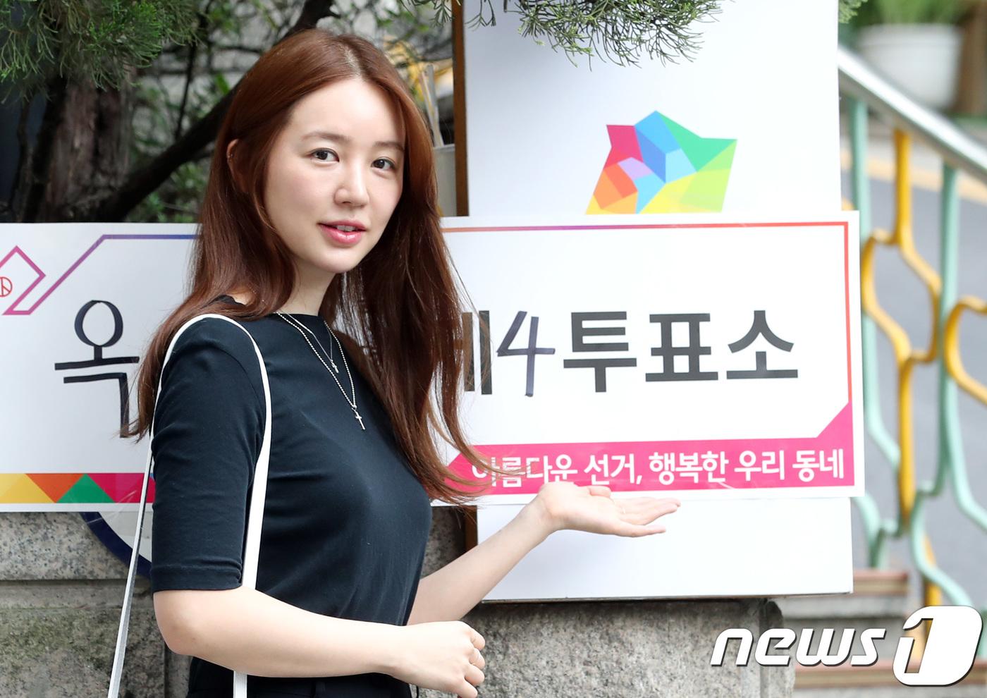 윤은혜→견미리·이유비 모녀까지…지방선거 투표 완료 ★들