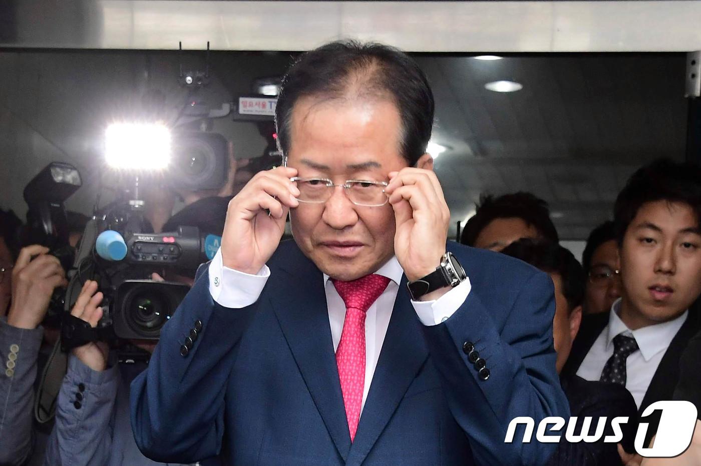 '대표직 사퇴' 홍준표…대구 북구을 당협위원장도 물러나