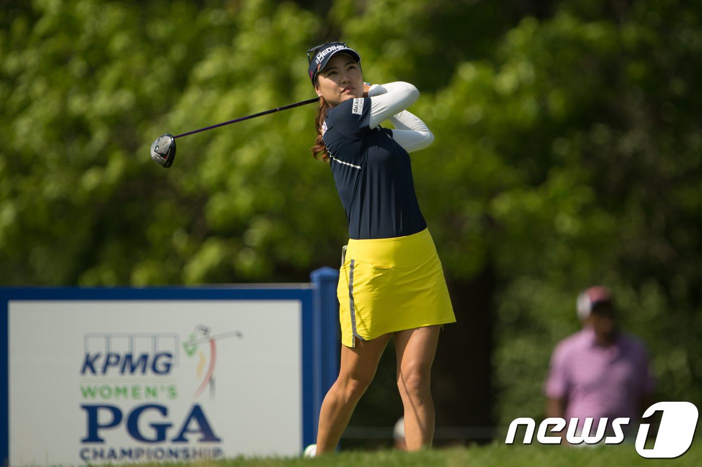 박성현-유소연-하타오카, KPMG 챔피언십 연장 돌입