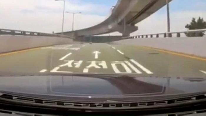 김해공항 BMW 질주 영상에 '공분'…가해자는 항공사 직원