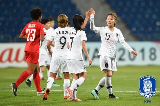 '무실점 무패' 女대표팀, 2연속 '월드컵 기적' 예약