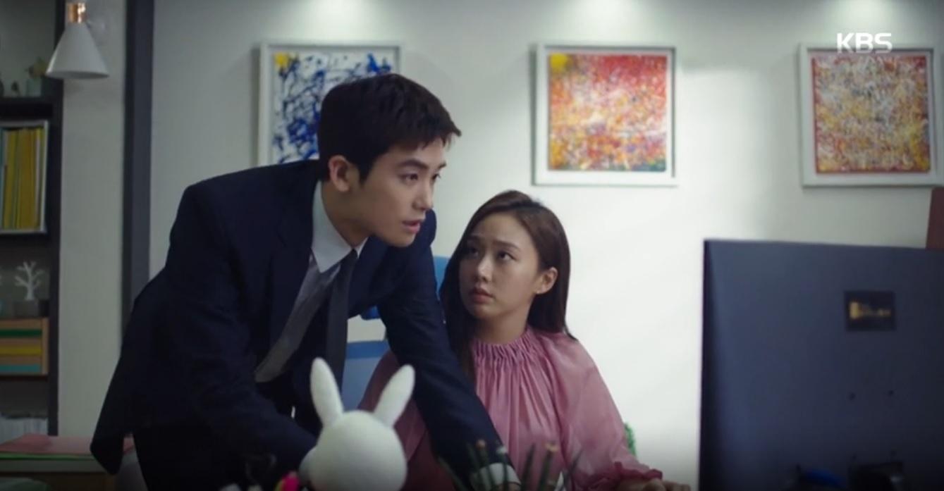 [슈츠(Suits)] 박형식X고성희, 장동건 흑역사 캡쳐하다 미묘한 접촉에 '깜짝!'