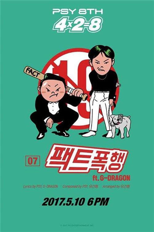 Psy to Release 8th Studio Album ′4X2=8′