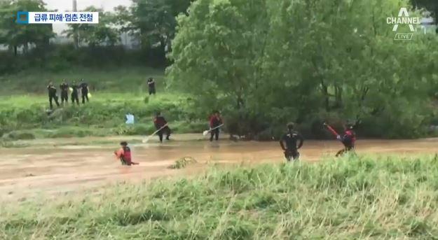 열차 멈추고 나무 쓰러지고…5월의 '살인 폭우'
