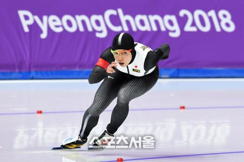 [2018평창]고다이라, 빙속 여자 1000m 은메달…네덜란드 '또 금'