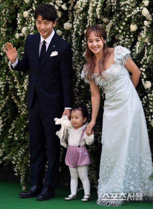 유진, 임신4개월..올가을 둘째 출산 예정