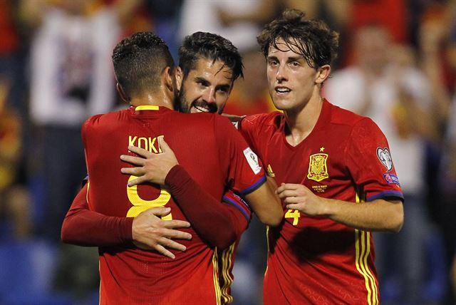 '무적함대' 스페인, 월드컵 11회 연속 진출