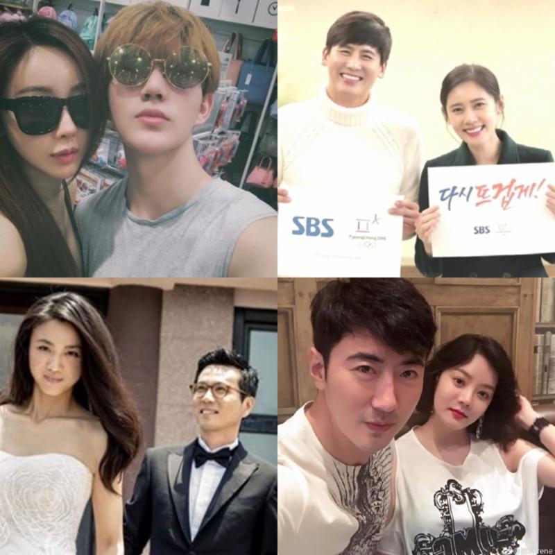 [Hi #이슈]추자현-우효광부터 함소원-진화까지, 사랑에 빠진 韓中커플