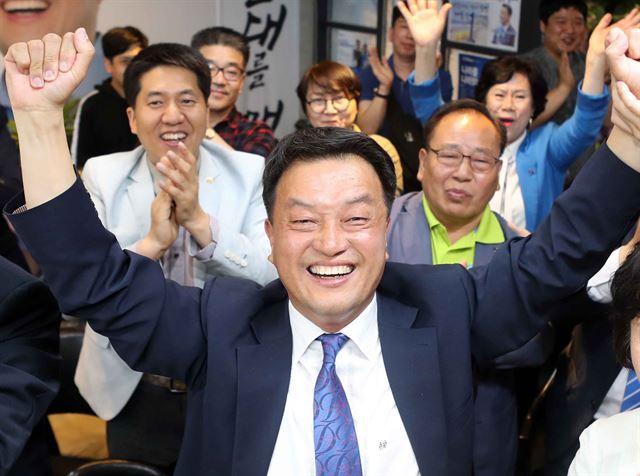 윤준호, 홍준표 측근 꺾고 해운대 대첩