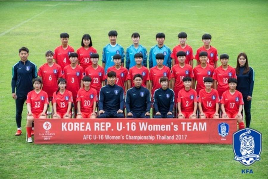 여자 U16 대표팀, 챔피언십에서 중국과 2-2 무