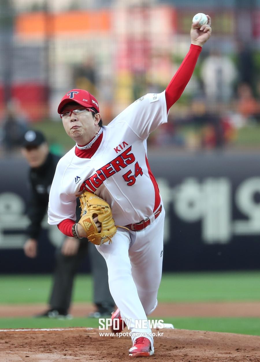 양현종 SK전 6이닝 2피홈런 5실점… 9승 실패
