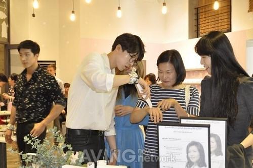 신개념 코스메틱 CS '랑벨 디스커버리 카페', 론칭 파티 개최
