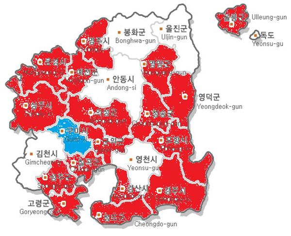 경북도 기초자치단체장 정치지형 변화, 무소속 대거 가세