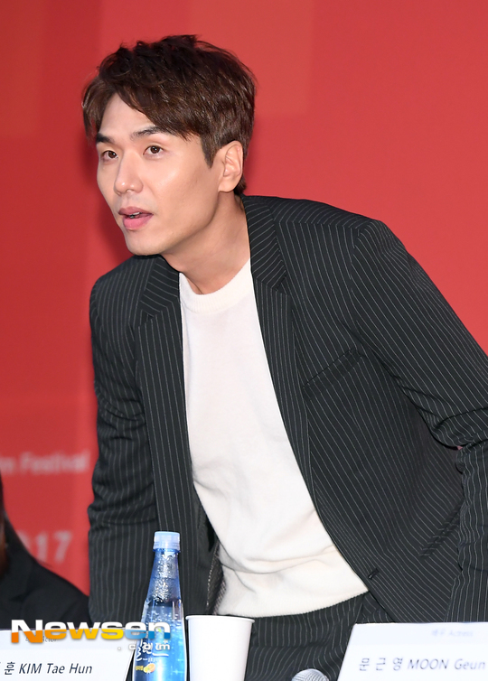 [포토엔HD] 김태훈 '유리정원으로 부산국제영화제 참석'