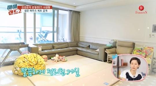 '마마랜드2' 김성은 집 최초 공개 깔끔하게 정리된 러브하우스
