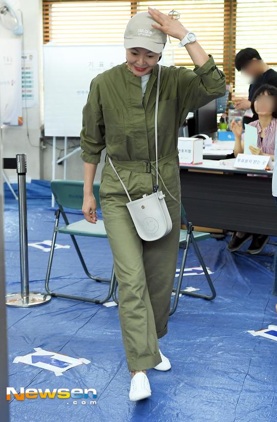 진희경 '모델 출신다운 패션센스'