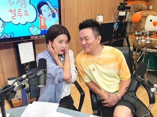 장도연 '컬투쇼' 출연 인증샷, 민낯도 귀여운 국민거인